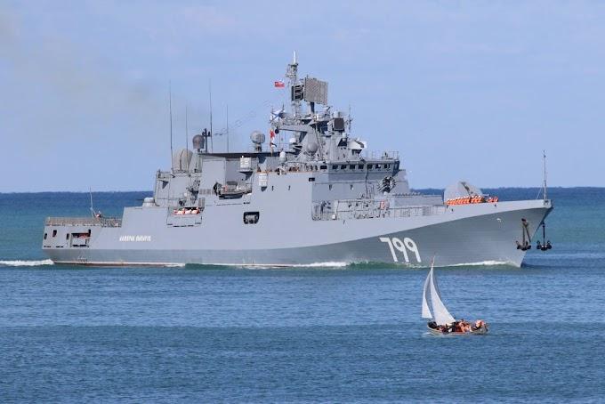 Rússia está aos poucos fortalecendo sua Marinha para voltar a ser uma força global