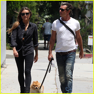 Gavin Rossdale & Sophia Thomalla Step Out in Studio City