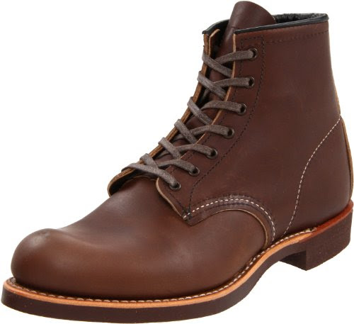 Red Wing Shoes Men's 6 Round Toe Boot,Brown ,7 D US