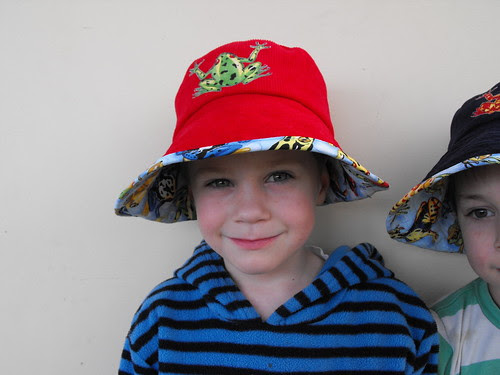Liam frog hat