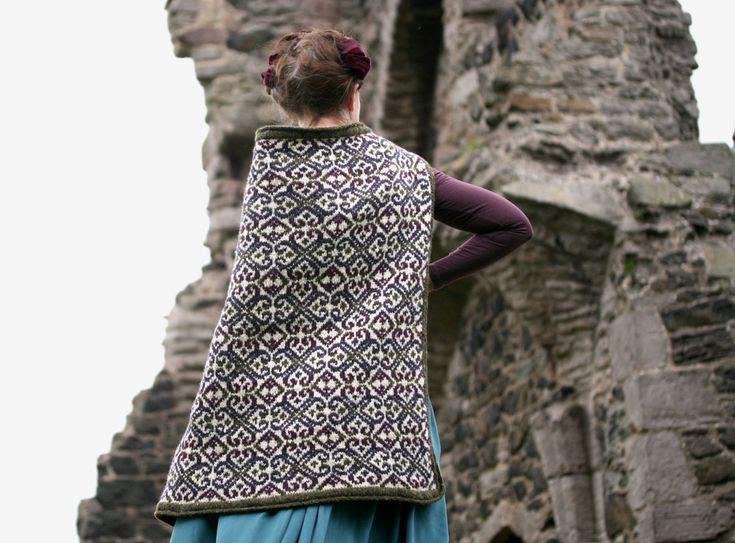 Tír Chonnail Wrap/Throw // More stunning genius from Kate Davies