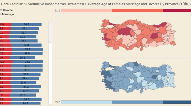 Tableau Ile Türkiyenin Interaktif Haritasını çıkarmak Açık Veri