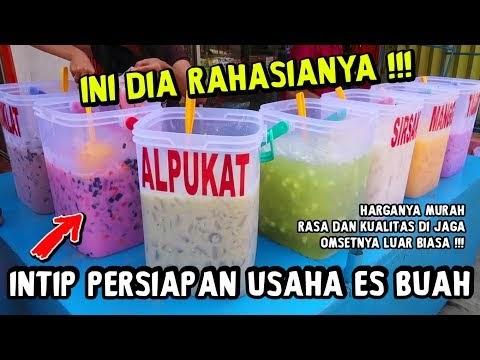 Resep Es Buah Aquarium Untuk Jualan Indonesian Food Recipes