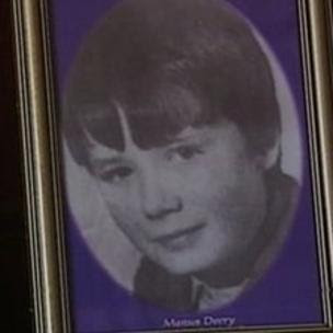 Manus Deery, 15, was shot dead in the Bogside in May 1972