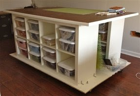 Work Tables With Storage - Foter