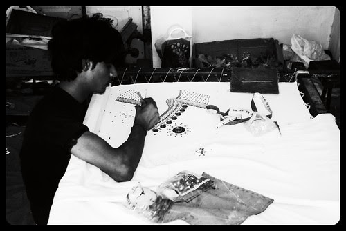 The Hand Embroidery Workers Of Taragadh by firoze shakir photographerno1