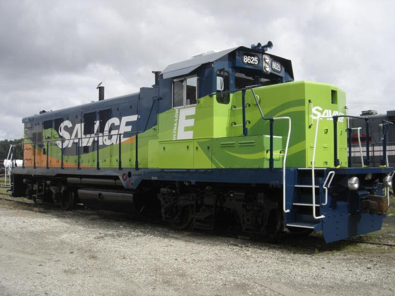 SVGX 8625, former SOO 4203, from Savage Transportation