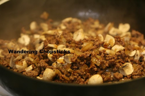 English Cottage Pie with Ground Beef and Mushrooms 5