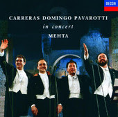 Three Tenors with Mehta CD