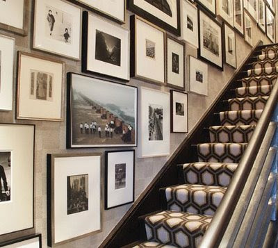 Suzie: Eric Cohler Design - Graphic patterned stair runner and awesome photo gallery! gray ...