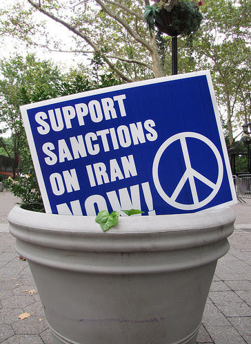 Sanctions for Iran Poster: United Nations