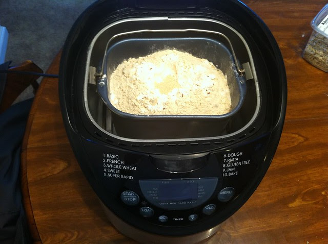 Bread Basket in Bread Maker