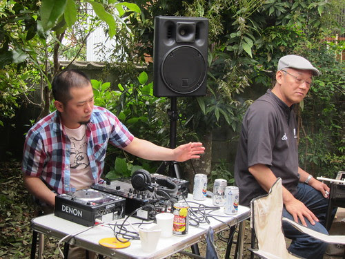 DJ at rachel's house!
