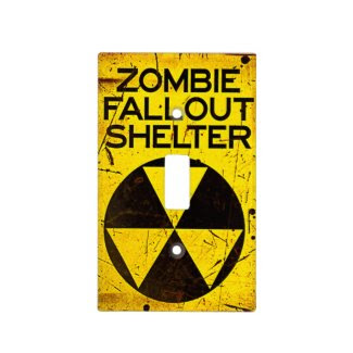 Zombie Fall Out Shelter Light Switch Cover Walkers