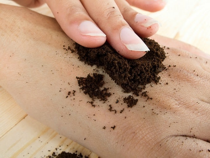 How to Reuse Your Leftover Coffee Grounds - Simply Stacie