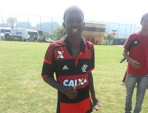 Linconl, Promessa Flamengo