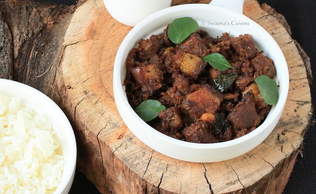 Vettu Cake Recipe Kerala Style: Swapna's Cuisine: Kerala Style Pork Fry / Nadan