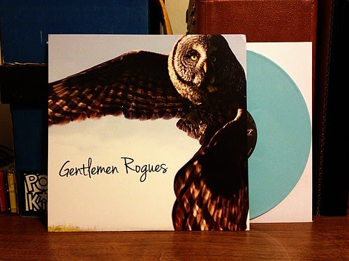 "Gentlemen Rogues - S/T 10"" - Blue Vinyl (/300) by Tim PopKid"
