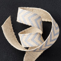 Smoky Slate 5/8 Chevron Ribbon by Stampin' Up!
