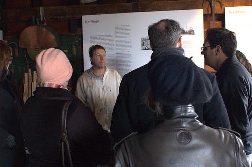 David Sharps Speaks to the HDC Red Hook Walking Tour