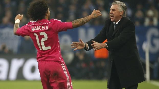 Marcelo marcou o segundo gol da vitória do Real Madrid sobre o Schalke 04