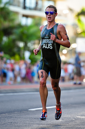 Josh Amberger - Mooloolaba Men's ITU World Cup Triathlon, 27 March 2010