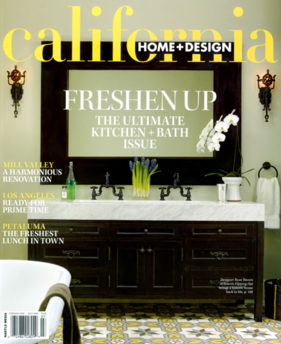 Brown Design Development Brown Design Featured In California Home