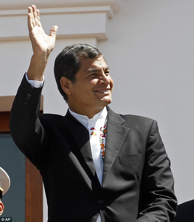 Offer: Ecuador's President Rafael Correa - The Ecuadorian government declared on Monday that national sovereignty and universal principles of human rights would govern their decision on granting asylum to Edward Snowden