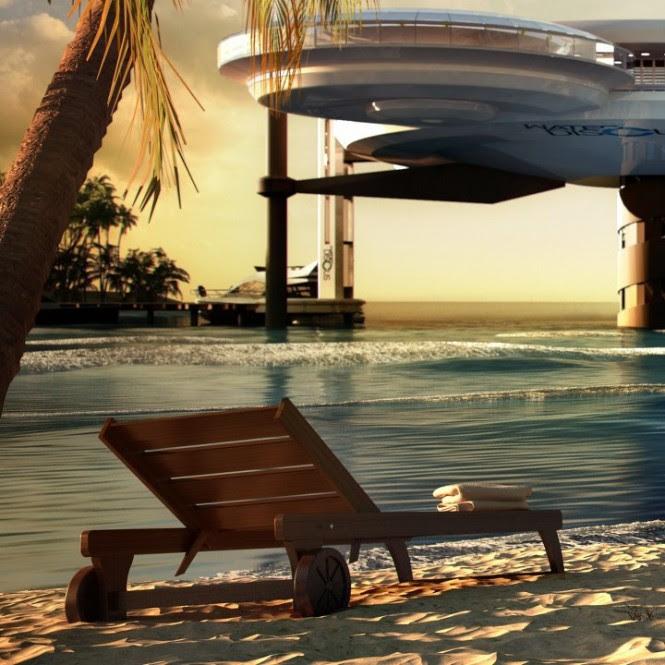 Beachfront sea view holiday destinations