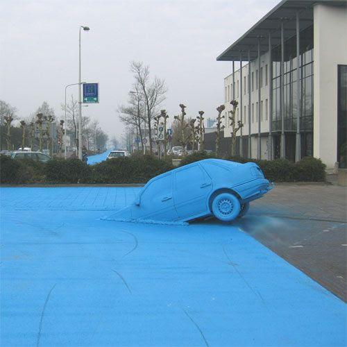 perierga.gr - Ο μπλε δρόμος