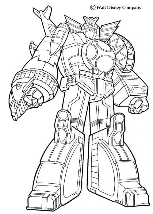 Coloriage Power Rangers A Imprimer Az Coloriage