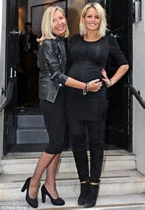 Pregnant Davinia Taylor launches new hair salon   Daily