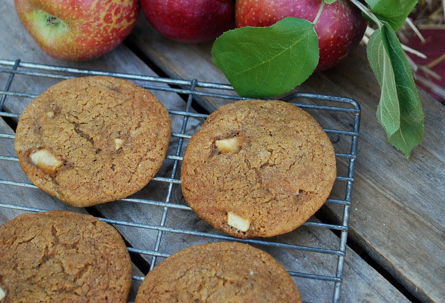 Apple Molasses Cookies1