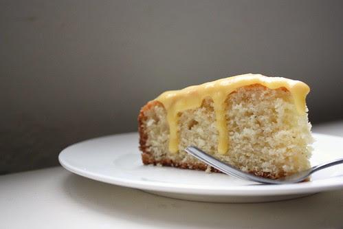 Yogurt Cake with Tangerine Curd