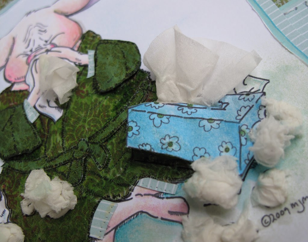 Swine flu (Mo's Digital Pencil) Kleenex box detail melstampz