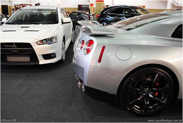 Mitsubishi Lancer Evolution X Nissan Gt R R35 Flickr