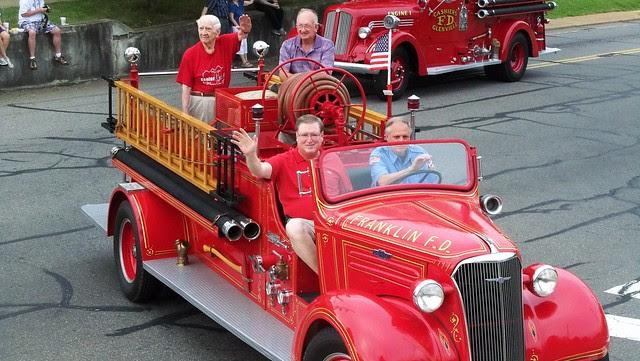 Franklin Fire Truck - 1937 Model