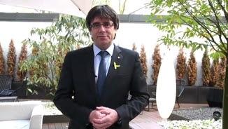 Carles Puigdemont envia un missatge de Sant Jordi des de Berlín
