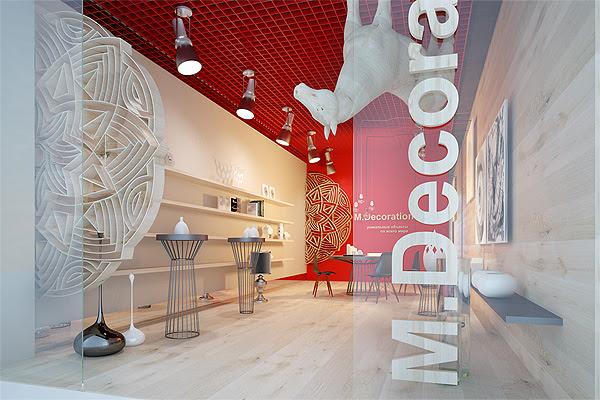 M Decoration Boutique // Sergey Makhno Workshop | Afflante.