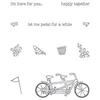 Pedal Pusher Photopolymer Stamp Set