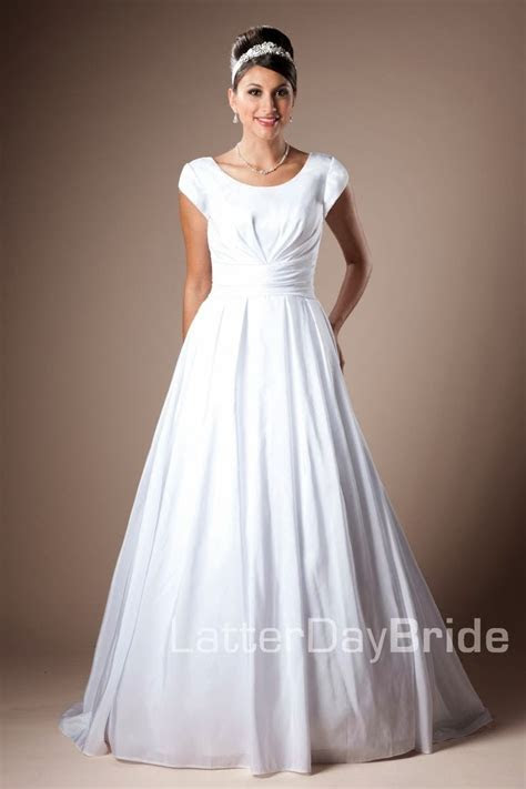 Modest Wedding Dresses: Latter Day, Allure & David