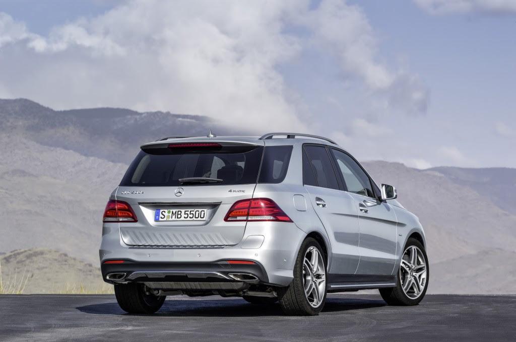 2016 Mercedes-Benz GLE 550e Plug-In Hybrid SUV Arrives ...