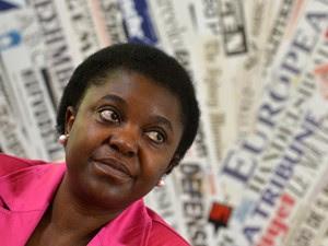 Ministra da Integração da Itália, Cecile Kyenge, em imagem de arquivo (Foto: AFP)