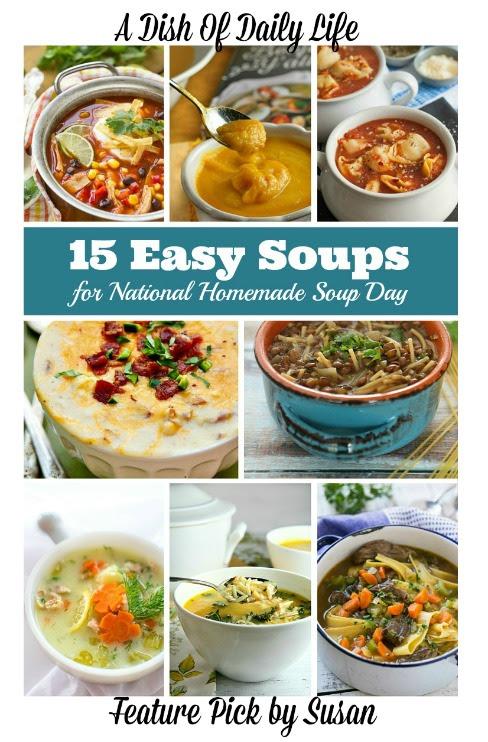 15 Easy Soups