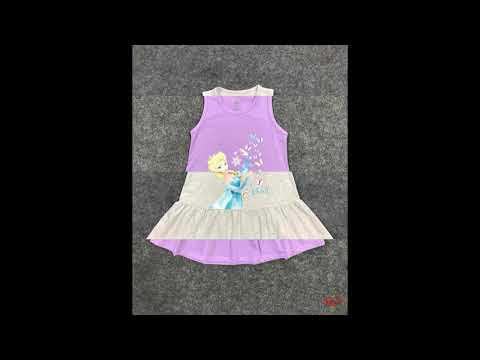 quần áo trẻ em giá sỉ | đầm elsa đàn bướm | thương hiệu htkids