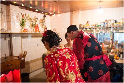 Chinese tea ceremony double happiness wedding photos