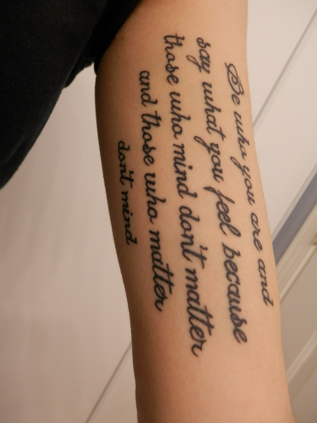 Quote Tattoos Designs, Ideas and Meaning | Tattoos For You