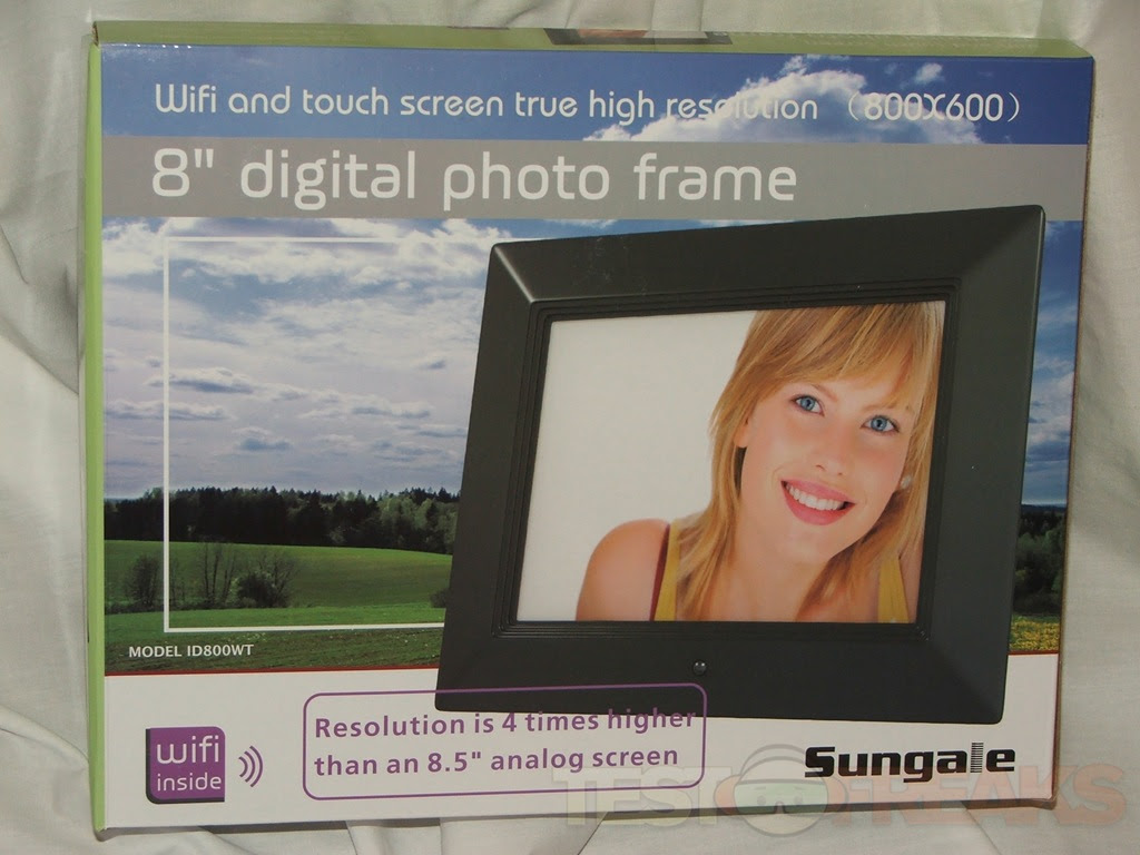 Sungale Id800wt 8 Inch Wi Fi Digital Touchscreen Photo Frame Technogog