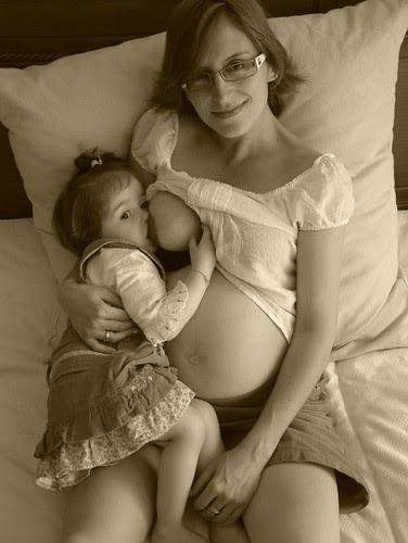 Lactancia embarazada