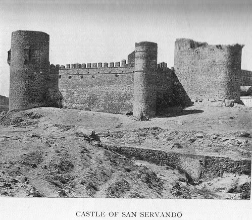 Castillo de San Servando en el siglo XIX